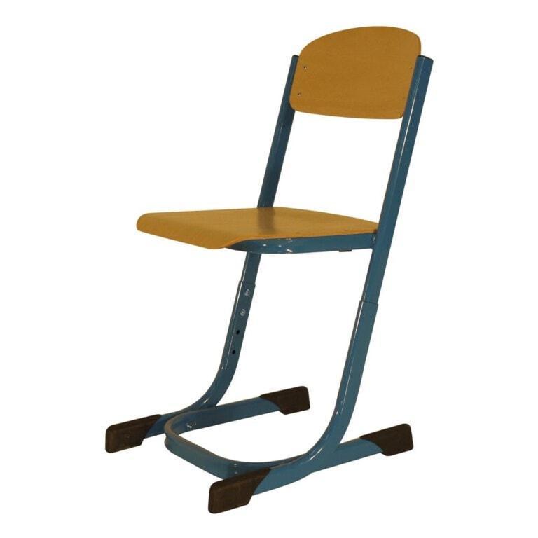 Školská stolička Prim Trend modrá