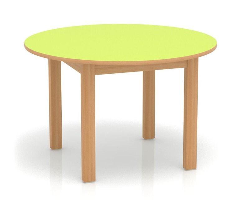 Detský stôl Fantasy kruhový, 100 mm