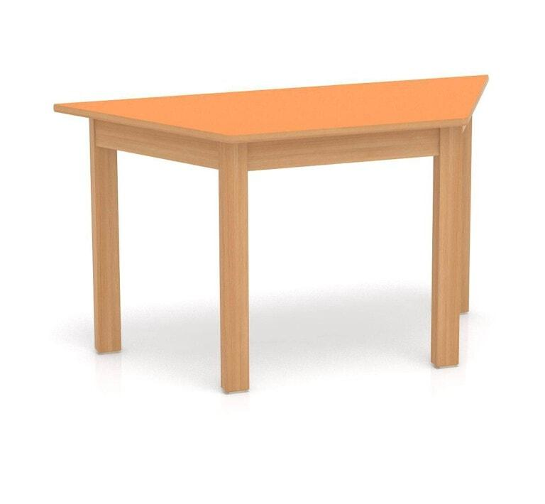 Detský stôl Fantasy lichobežník, 1200 mm