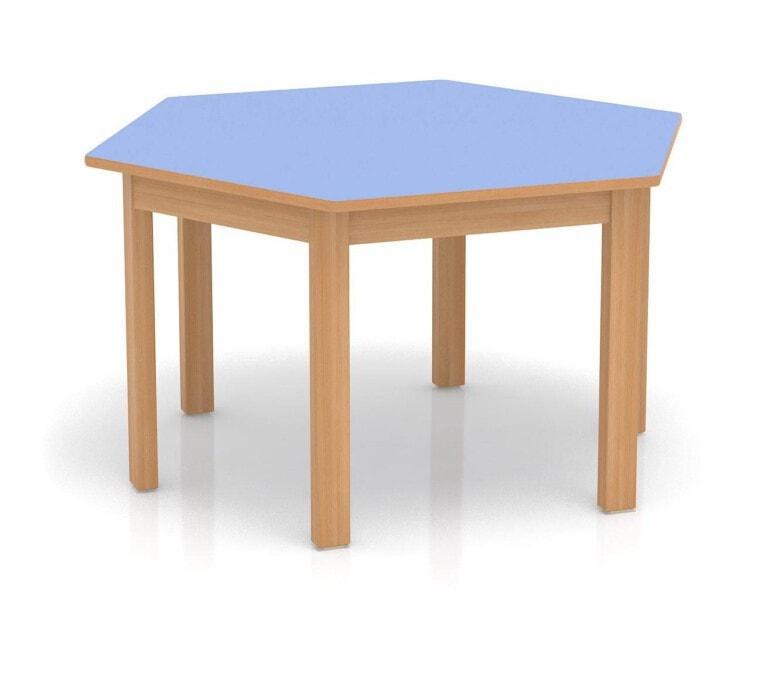 Detský stôl Fantasy šesťuholník, 1200 mm