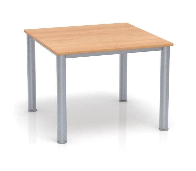 Detský stôl Fantasy štvorcový, výška 600 - 710 mm buk