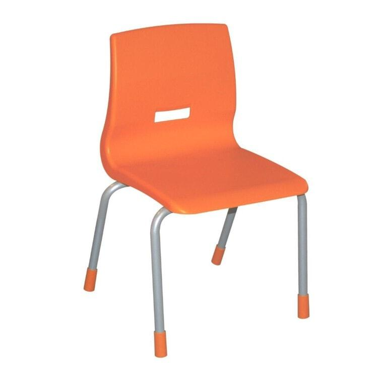 dětská plastová židle Lada oranžová
