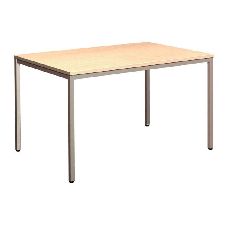 jedálenský stôl s kovovými nohami LTMU