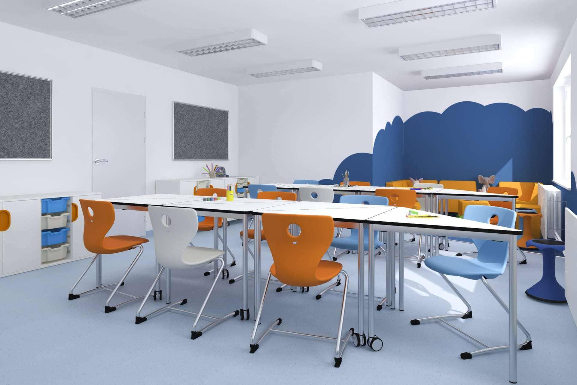 3D vizualizácia triedy