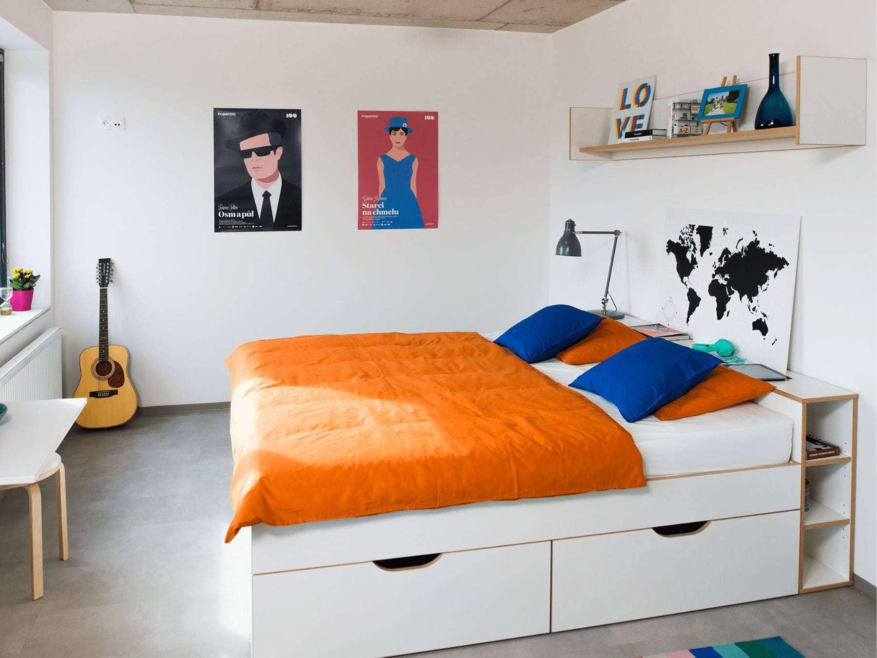 interiéry a zariadenia apartmánov a bytov
