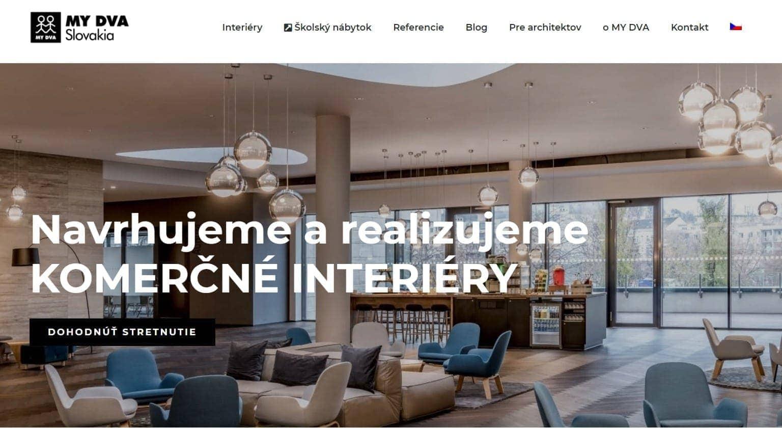 mydva.sk_komerčné interiéry